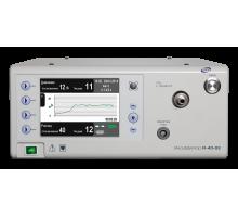Инсуффлятор электронный с автоматическим определением границы напряженного пневмоперитонеума.