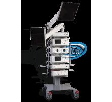 Шасси аппаратное с колесной платформой и поворотным кронштейном для монитора