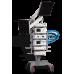 Шасси аппаратное с колесной платформой и поворотным кронштейном для монитора с креплениями для баллона